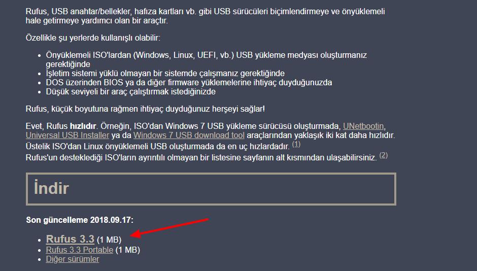 Rufus Nasıl İndirilir? USB İle Bilgisayara Format Atma | USB'den Windows Nasıl Kurulur?
