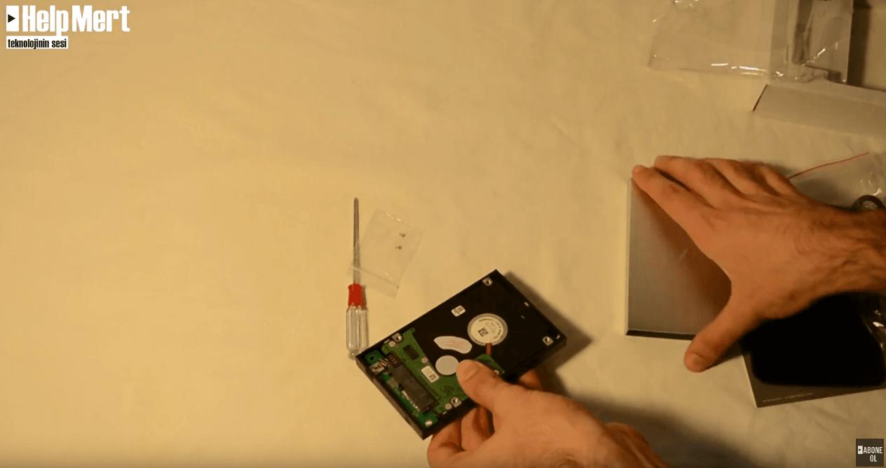 Taşınabilir Hard Disk Yapımı - HDD'yi Taşınabilir Yapmak - Dahili Hard Diski Taşınabilir Hard Disk Yapmak - Taşınabilir Hard Disk Nasıl Yapılır?