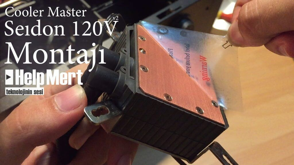 Cooler Master Seıdon 120V V2 Kutu Açılış & Montaj