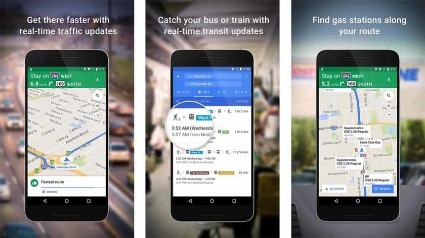 Google Haritalar Ücretsiz Navigasyon Uygulaması