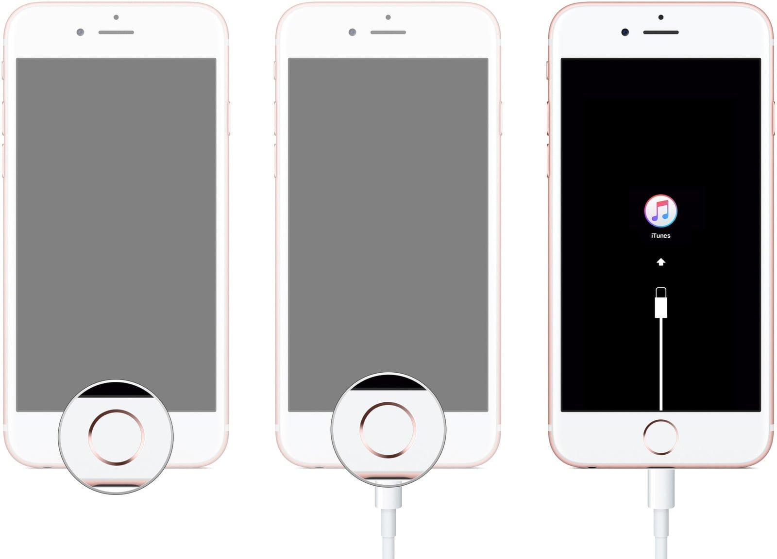 iPhone 6s, iPhone 6s Öncesi veya iPad Kurtarma Moduna Nasıl Alınır?