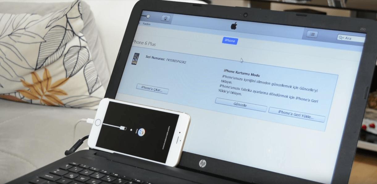 iPhone Recovery Mode Nasıl Girilir? iPhone Kurtarma Moduna Nasıl Girilir? iPhone ve iPad'i Kurtama Moduna Almak